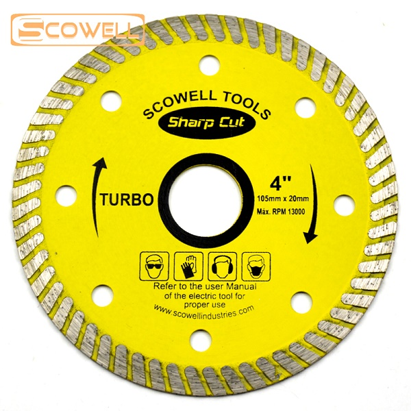 Turbo Diamond Cutting Disc Blade