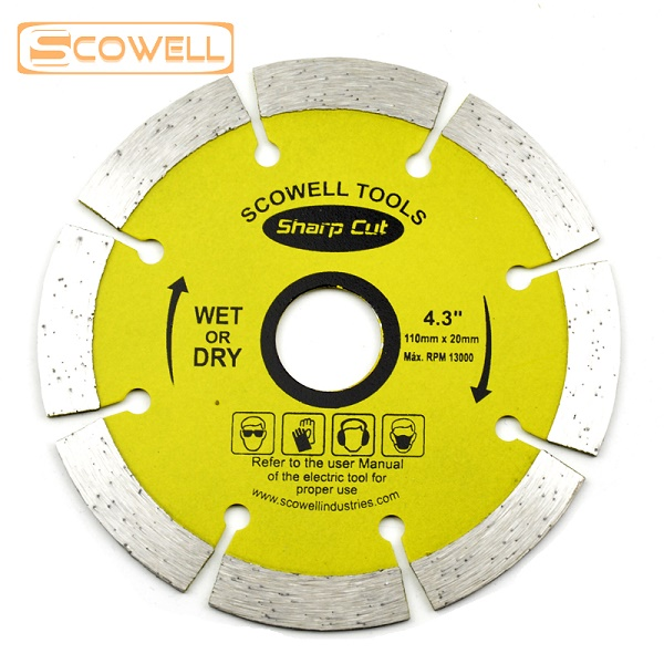Diamond Cutting Disc Dry and Wet Blade